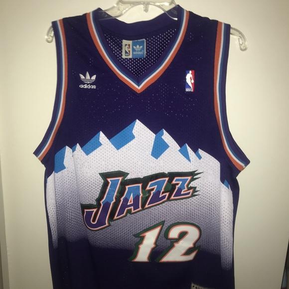 size 40 65054 c7d4d John Stockton Throwback NBA Jersey